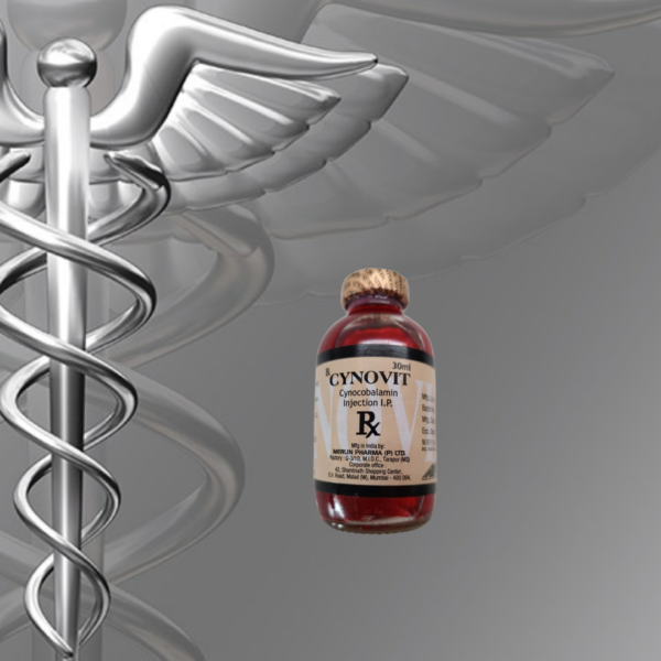 Cynovit-B12 Cynocobalamin Injection 30 ML